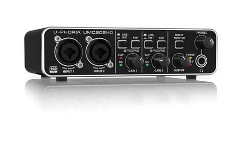 Soundcrad Behringer Umc 202 Hd behringer u phoria umc202 hd interfaz de audio