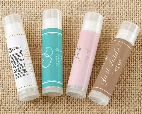 wedding favors lip balm personalized wedding lip balm set of 12 my wedding favors