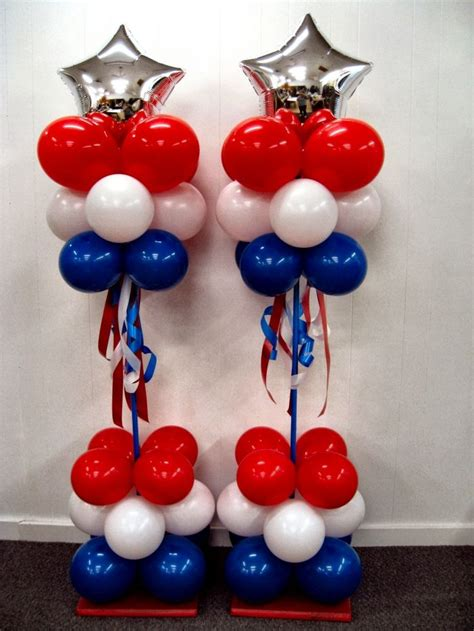 4th Of July Balloon Decorations by Patriotic 4th Of July Balloon Decor Usa Americanflag