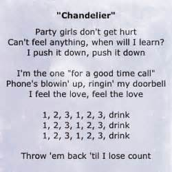 chandeliers lyrics best 25 chandelier lyrics ideas on sia lyrics