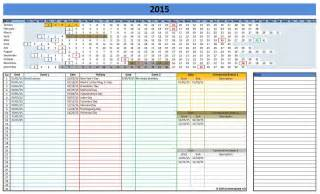 Microsoft Excel Schedule Template by 2015 Calendar Templates Microsoft And Open Office Templates