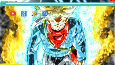 theme chrome dragon ball z dragon ball z chrome themes themebeta