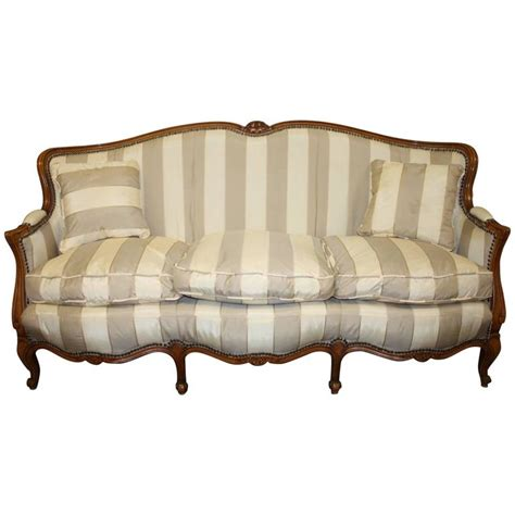 louis xv settee charming 19th century french louis xv settee for sale at