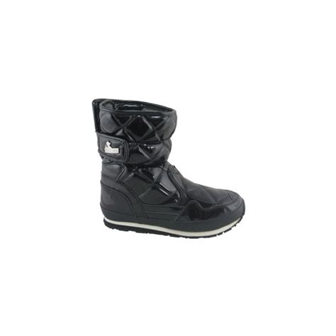 snowjoggers sporty snowjogger quilted s black boots