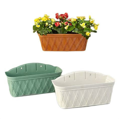 Plastic Wall Planter by Get Cheap Large Rectangular Planters Aliexpress
