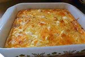 overnight egg cheese strata recipe dishmaps