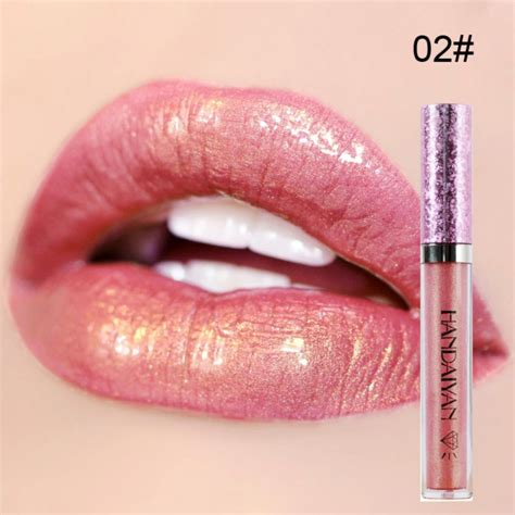 Lipstik Makeover Matte Lip metallic glitter matte liquid lipstick waterproof makeup lip gloss stick ebay
