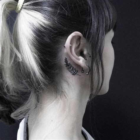 minimalist tattoo behind ear ear tattoos ideas behind the ear tattoos for guys and girls
