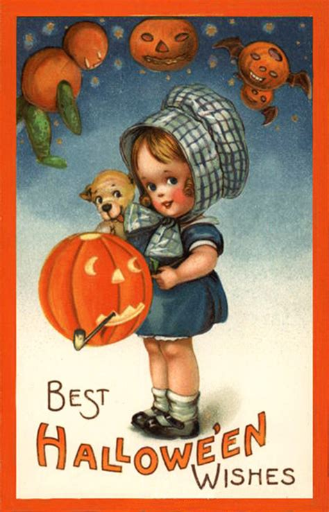 halloween printable greeting cards vintage halloween postcards and halloween poems free