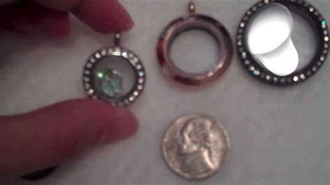 Origami Owl Sizes - origami owl comparing locket sizes