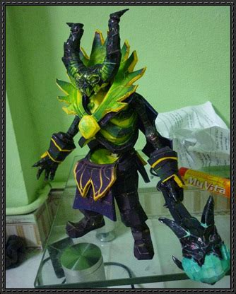 Dota Papercraft - papercraftsquare new paper craft dota 2 pugna