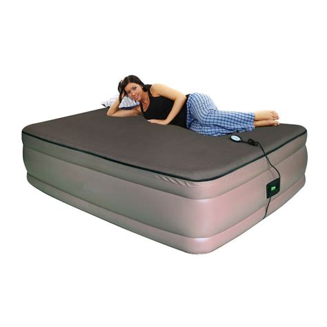 inflated bed review of smart air beds raised ultra tough inflatable