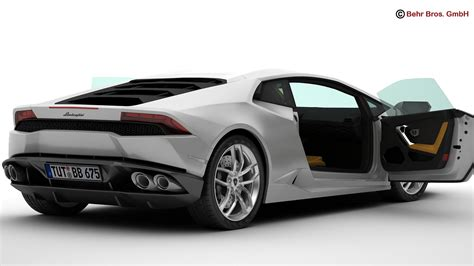 Lamborghini 3d by Lamborghini Huracan Lp610 4 3d Model Flatpyramid