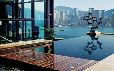 intercontinental hong kong world s coolest plunge pools