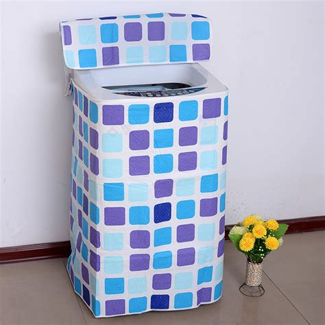 Washing Machine Dust Cover thicken zipper washing machine cover a b washer dryer