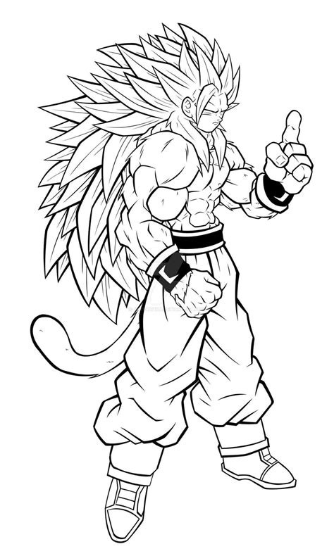 Dragon Ball Z Coloring Pages Goku Super Saiyan 5 Az Z Coloring Pages Goku Saiyan 5