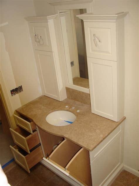 Single Story House Plans With Basement vanity w laundry chute to basement bathroomy