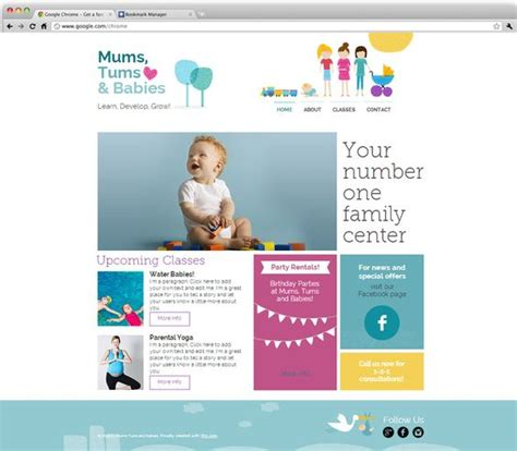 wix newsletter template and baby center wix website templates