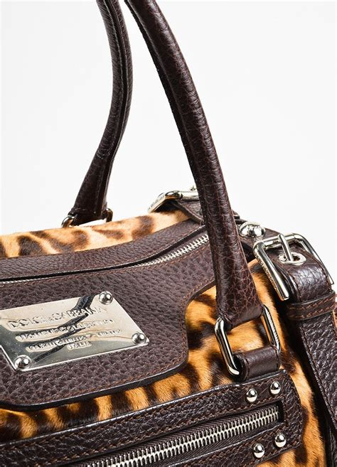 Dolce Gabbana Miss Easyway Bag by Dolce Gabbana Leopard Pony Hair Quot Miss Easy Way Quot Bag