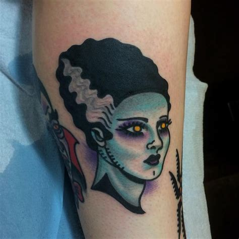 bride of frankenstein tattoo designs 192 best images about horror tattoos on