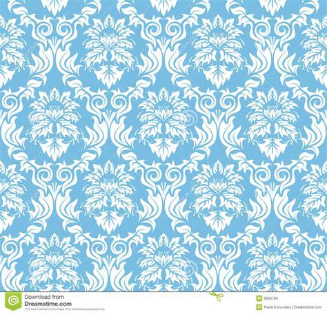 Seamless Damask Background Stock Photo Image: 9592760
