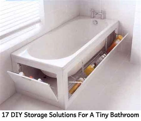 diy solutions 17 diy storage solutions for a tiny bathroom lil moo
