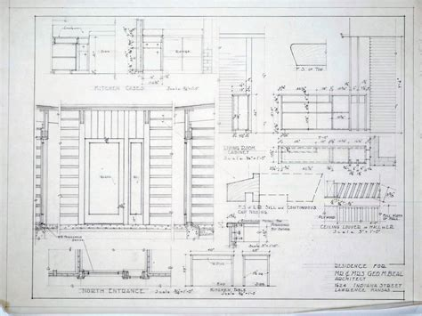 kitchen cabinet detail architectural drawings click images to expand 171 lawrence