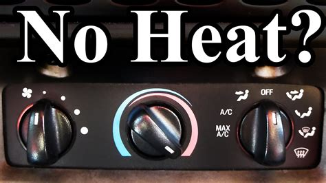 how to fix a no heat problem in a 2006 chevy equinox removing dashboard to replace air blend door no heat in a pick up autos post