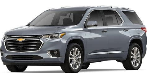 2019 Chevy Traverse by 2019 Chevy Traverse Satin Steel Metallic Side View O