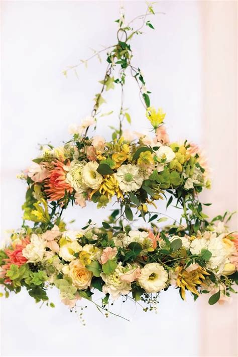 chandelier flowers floral chandelier flowers