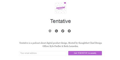 tentative layout meaning best ui ux design podcasts 187 css author
