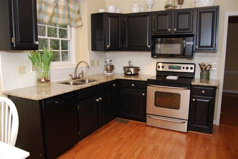 black laminate kitchen cabinets wonderful painting kitchen cabinets black ideas painting