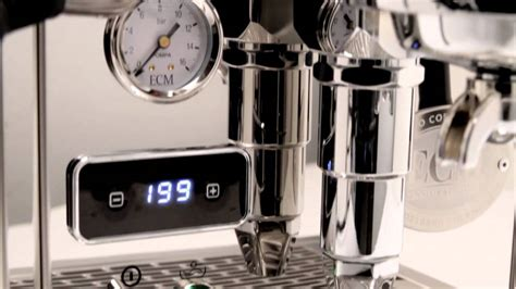 Coffee Maker Ecm 1250 sneak peek ecm classika pid espresso machine