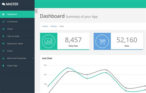20 free bootstrap admin and dashboard templates uideck