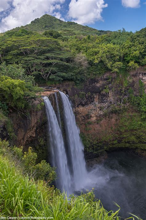 wailua falls  kauai photography hawaii