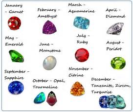 birth color wildflower designs modern birthstones what s yours
