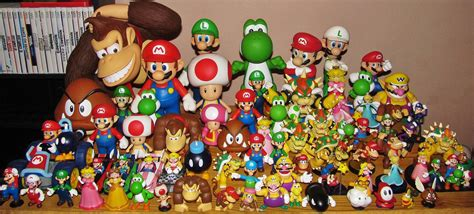 Figure Mario Bros mario figures by jcgroovez on deviantart