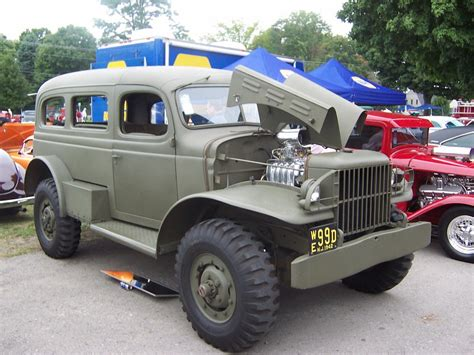 1942 dodge power wagon wc 53 carryall for sale front pictures