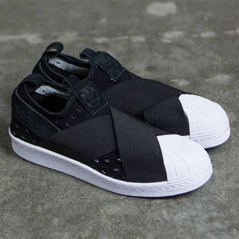 adidas originals superstar slip on shoes s74986 black white lazada singapore