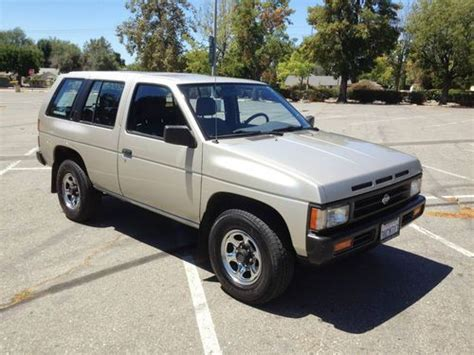 automotive air conditioning repair 1992 nissan pathfinder engine control purchase used 1995 nissan pathfinder xe sport utility 4 door 3 0l in sherman oaks california