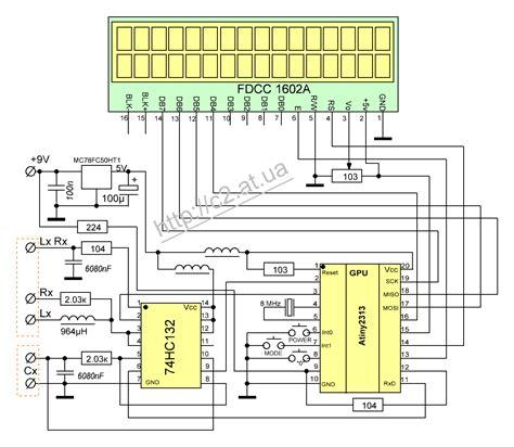 inductance meter homebrew clr2313 измеритель ёмкостей индуктивностей и сопротивлений схемы радиолюбителей