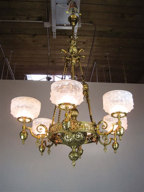 �mckenney� rodhung renaissance gas chandelier 6light
