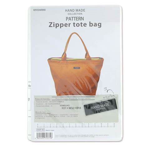 pattern tote bag with zipper sewing pattern kiyohara zipper tote bag x1 perles co