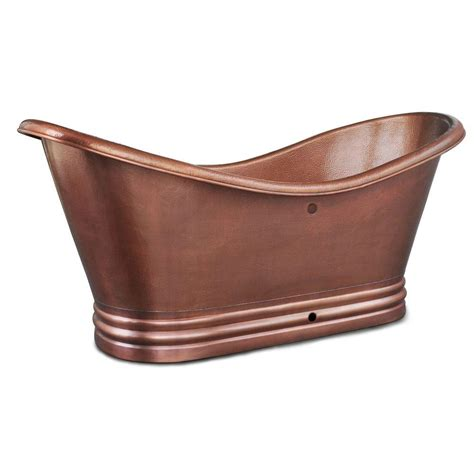 copper bathtub price sinkology euclid 6 ft handmade pure solid copper