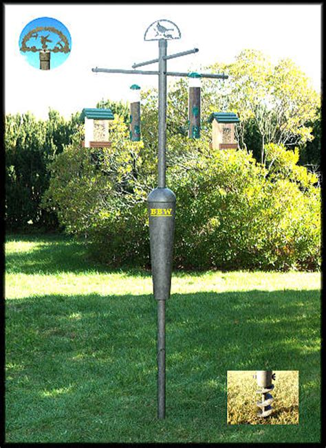 squirrel stopper system with screw in auger best price