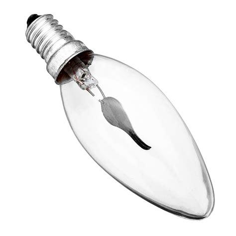 Candle Led Edison L 4 Watt E14 220v Warm White k 246 p e14 3w edison ljustake flamma la gult ljus