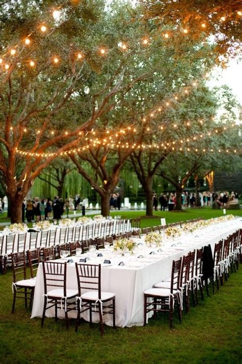Real Weddings Lindsay David Outdoor Receptions And Outdoor Reception Lighting