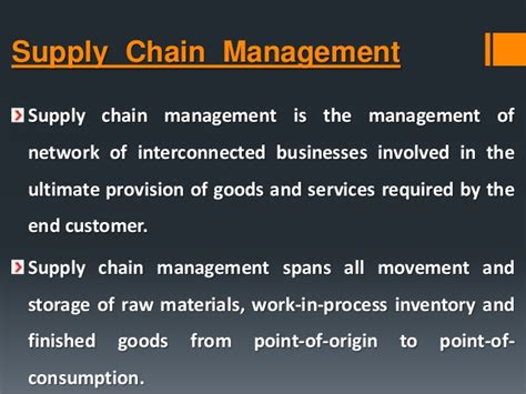 Construction Supply Chain Management Concepts And Studies 5in1 supply chain management it prospective