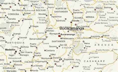 bucaramanga map bucaramanga location guide