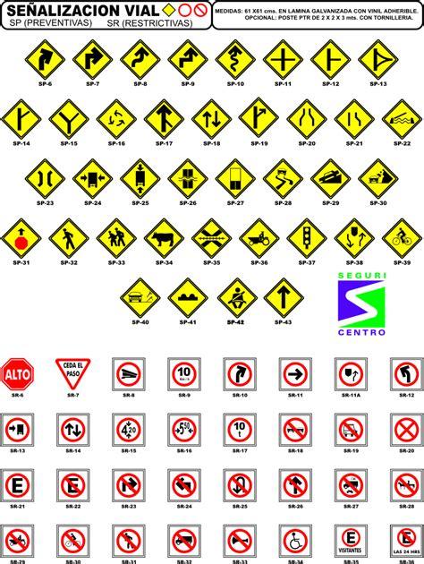 imagenes de simbolos viales se 209 ales viales y urbanos